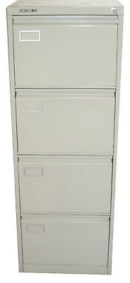 Roneo Vickers Grey Four Drawer Filing Cabinet (8A3-8DD-C4B)
