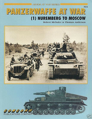 Concord Armor at War 7013, PANZERWAFFE AT WAR (1) Nuremberg to Moscow