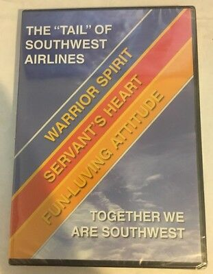 Rare Southwest Airlines SWA The Tail of Southwest Airlines DVD BRAND NEW SEALED