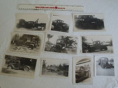 10 Vintage American Trucks truck photos Photograghs