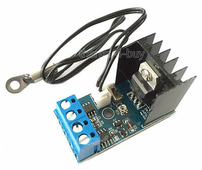 12V 1A DC  Automatic PC CPU Fan Temperature Control Governor Speed Controller