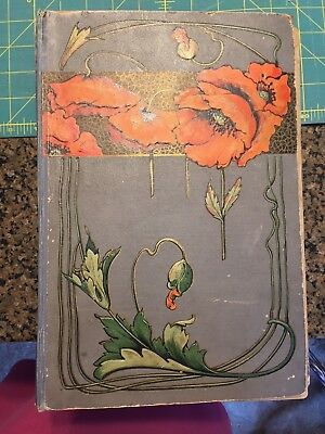 ANTIQUE ART NOUVEAU EMPTY POST CARD ALBUM CIRCA 1920s