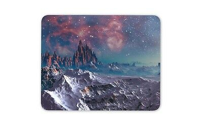 Fantasy Alien Planet Mouse Mat Pad - Planets Moon Galaxy Gift Computer #14253