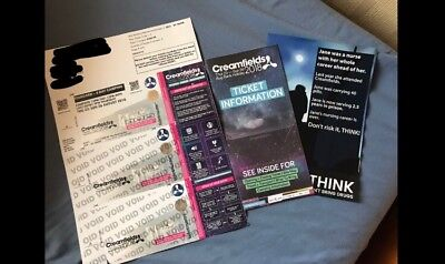 Creamfields 2018 4 Day Standard Camping Ticket