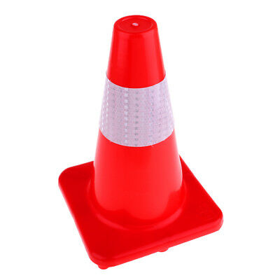 32cm Road Traffic Cone Reflective Roller Skating Emergency Safety Cone Red