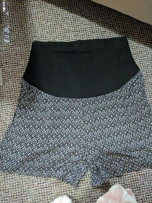 JoJo Maman Bebe Over Bump Maternity Shorts Size 10