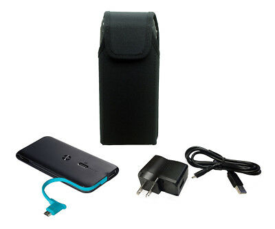 Nylon Pouch for the Kyocera DuraTR E4750 With Home and portable charger