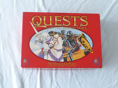 Quests of the Round Table Adventure Card Game Gamewright 1995 Karten Spiel