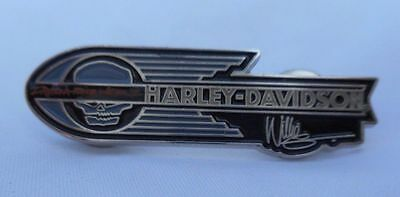 2 Pcs Harley Pins Willie G Retro1936 Knucklehead Decal Panhead,Sporster,Servi,FL