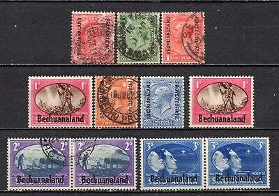 Bechuanaland very nice mixed overprints collection,stamps as per scan(5092)