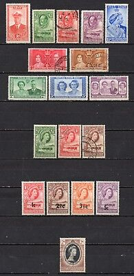 Bechuanaland very nice mixed collection,stamps as per scan(5093)