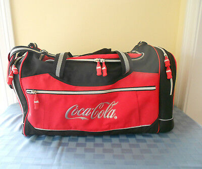 Coca-Cola Red/black Duffel Bag **never Used**