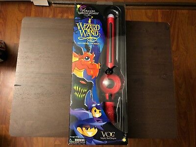 Of Dragons, Fairies, and Wizards Vog Hand Held Wand, Red Brand New!