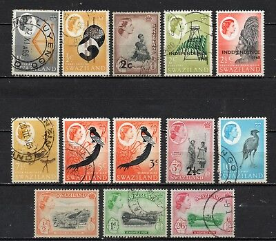Swaziland very nice mixed QE II collection,stamps as per scan(5101)