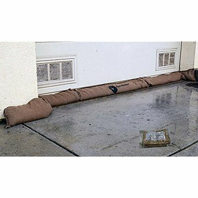 HydraSorber - Sandless Sandbags Water Absorbent Flood Barrier 11ft Long X 8in