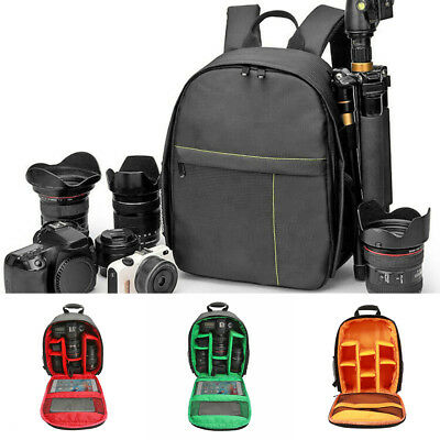 Waterproof DSLR Camera Backpacks Shoulder Bags Tripod Case for Canon Nikon Sony
