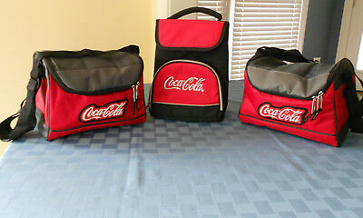 Coca-Cola Insulated Lunch Bags **never Used**