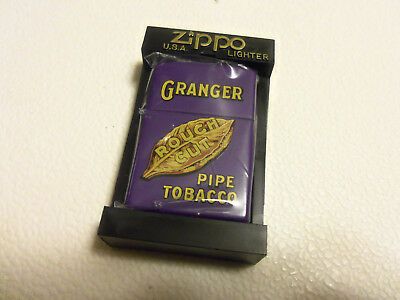 ''granger''- Pipe Tobacco - Zippo From The Tobacco Tin Series - New