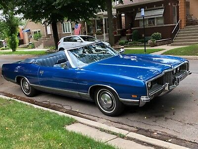 1971 Ford Other Convertible LTD 1971 Ford LTD Convertible