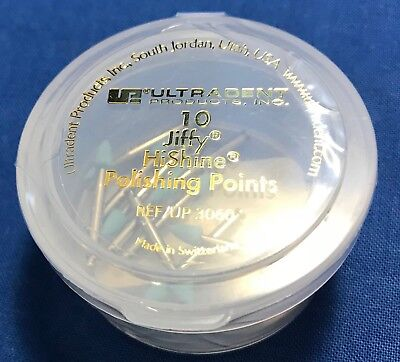 Ultradent Jiffy HiShine Polishing Points - Container of 10 - Reference: UP/3060