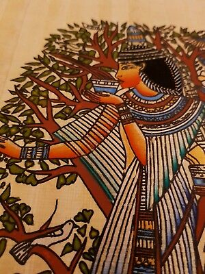 100%Genuine Papyrus paper painting dress of the Ancient Egyptians