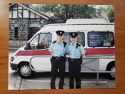 Hong Kong Island Police Officers---Moscow Metro Police Recruiting Poster