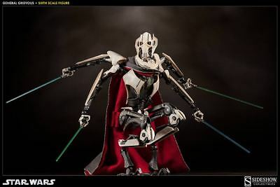 Sideshow General Grievous 1/6 Scale Figure Exclusive NEW MIB Star Wars 1000271