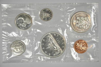 1963 - 1967 Canada Proof-Like Silver Mint Sets UNC w/Envelopes Random