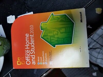 Microsoft Office Home and Student 2010, 3 Users, Family Pack FREE SHIPPING!