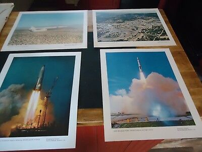 16 Vintage Prints North American Aviation Prints Nasa,Air Force,Navy Planes,