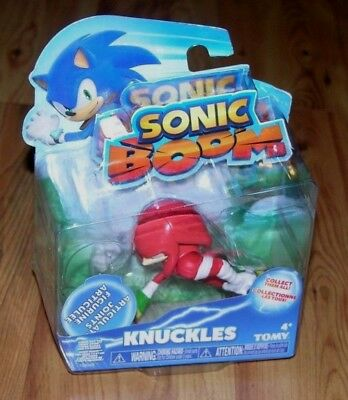 """Sonic Boom Knuckles With Articulated Joints 3"""" Plastic Figure Toy"""