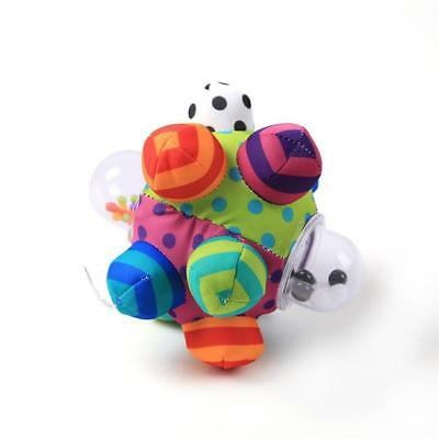 Developmental Baby Activity Rattle Ball Infant Educational Toy Toddler Bumpy Y2