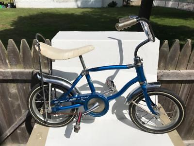Schwinn Little Tiger Banana Seat Muscle Bike Old Vintage Bicycle Small 1970S  ?