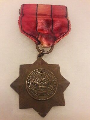 Shanghai Municipal Council Emergency Medal 1937 - China Emergency