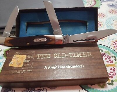 New in box vintage 80 T Old Timer pocket knife US made .. very rare Matchstick