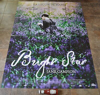 BRIGHT STAR Movie Poster - MASSIVE Original NEW Rare - Jane Campion - French