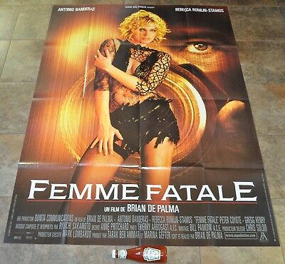 FEMME FATALE Movie Poster - MASSIVE - NEW - ORIGINAL - Brian De Palma - French