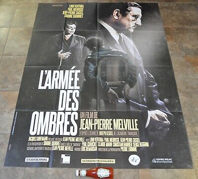 ARMY OF SHADOWS Movie Poster - MASSIVE Rare NEW Jean-Pierre Melville - Criterion