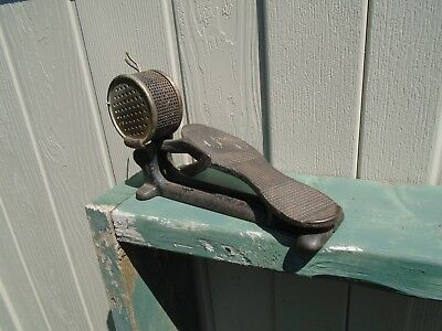 Vintage Sewing Machine Cast Iron FOOT PEDAL Controller Steam Punk ~ Iron Age