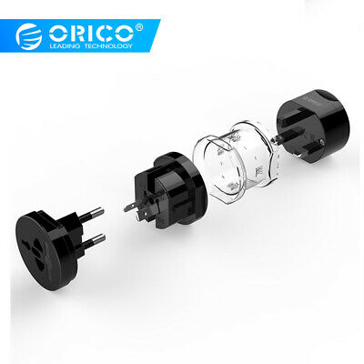 ORICO 4-in-1 Universal Travel Plug Adapter Converter Power Socket Fr AU/EU/US/UK