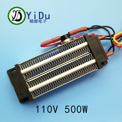 40pcs PTC heating element heater heater ceramic Thermostatic 500W 110V