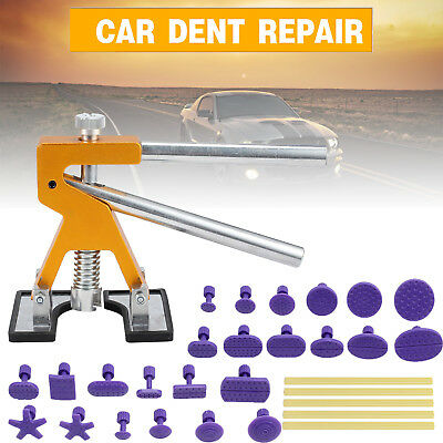 PDR Car Body Paintless Dent Repair Tool Puller Tab Glues Removal Hail Lifter Kit