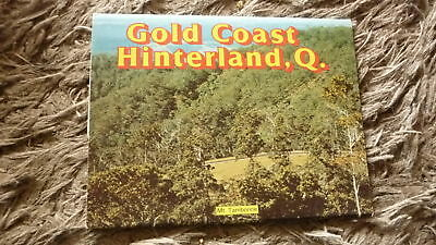 AUSTRALIAN OLD POSTCARD VIEW FOLDER. FROM THE 1980s GOLD COAST HINDERLAND QLD 1