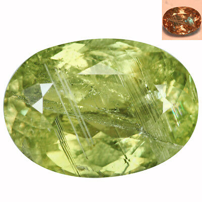 7.46Ct Superior Oval Cut 14 x 10 mm AAA Color Change Turkish Diaspore