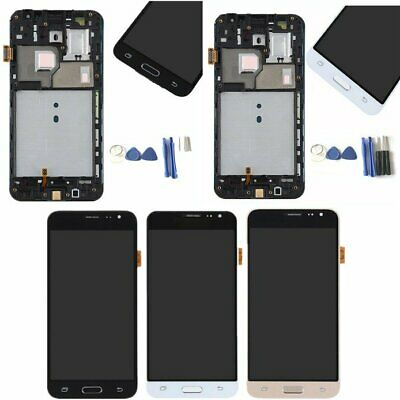 For Samsung Galaxy J3 2016 J320M/P SM-J320FN LCD Display Touch Screen With Frame