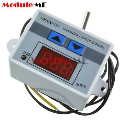 DC12V 10A Digital LED Temperature Controller Thermostat Control Switch Probe New