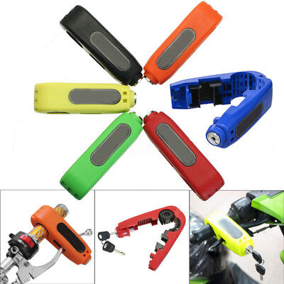 5 Color Caps-Lock Motorcycle Handlebar Brake lever Grip Security Lock Anit Theft
