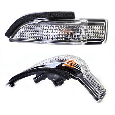 Pair Side Rear Mirror Indicator Turn Signal Light For Toyota Camry Corolla New