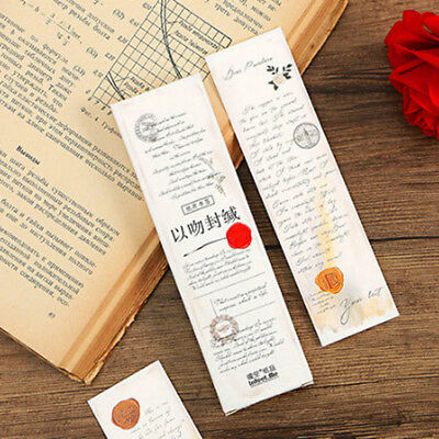 School Office Supply Book Mark Gift 30Pcs/Set Fresh Cute Bookmarks Stationery BS