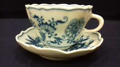 Old Viennese porcelain coffee cup and saucer!